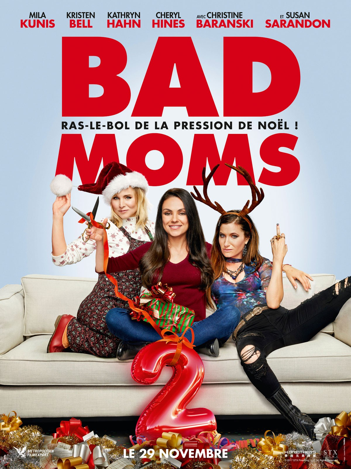 Bad Moms 2 FRENCH DVDRIP 2018