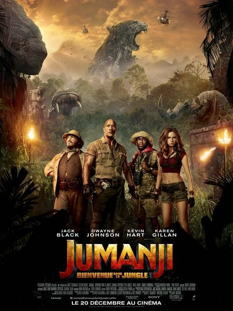 Jumanji 2 : Bienvenue Dans La Jungle FRENCH WEBRIP 2018